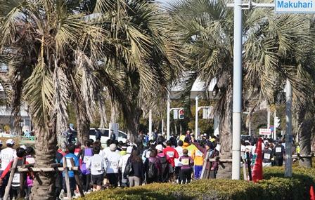 千葉マリンマラソン2013